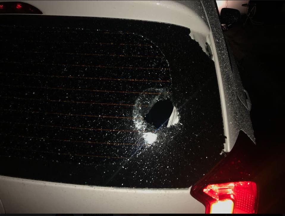 Una usuaria denuncia en Facebook la agresión a un socio de Uber, en la Central de Mayoreo. (Foto Prensa Libre: Cortesía)