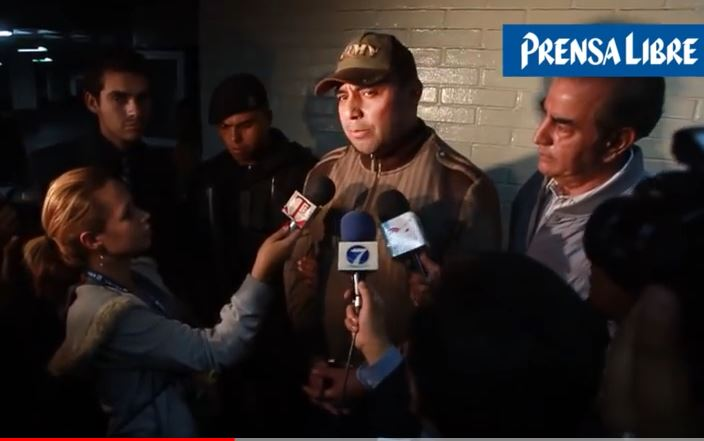 """La captura en febrero del 2013 de Byron Lima afuera de la cárcel de Pavoncito, fue tildada por el mismo reo como """"una payasada"""" de las autoridades de Gobernación. (Foto: Hemeroteca PL)"""