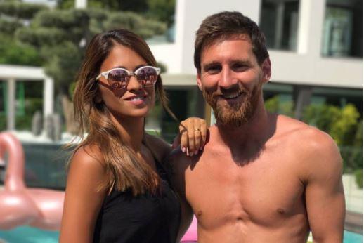 Lionel Messi y Antonella Roccuzzo siguen demostrando su gran amor en las redes sociales. (Foto Prensa Libre: Captura de pantalla Instagram)