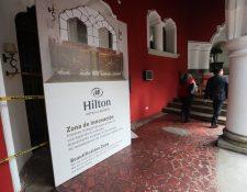 El próximo 16 de octubre el Hotel Vista Real pasará a ser Hilton Guatemala City. (Foto Prensa Libre: Érick Ávila)