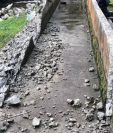 Parte de la obra de la hidroeléctrica en Purulhá fue destruida, según empresarios. (Foto, Prensa Libre: Cortesía).