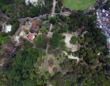 Vista panorámica de la avenida Simeón Cañas, zona 2 de la ciudad de Guatemala, contiguo al parque Minerva. (Foto Prensa Libre: Álvaro Interiano)