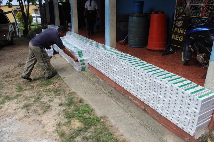 Contrabandistas de cigarros habrían defraudado al Estado por Q51 millones 700 mil