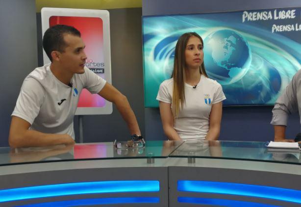Federico Rosal y Lucía Abadía son los invitados de este lunes en La Entrevista. (Foto Prensa Libre: Hemeroteca PL)