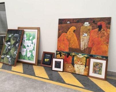 Obras de arte incautadas por el MP sumarían Q1 millón