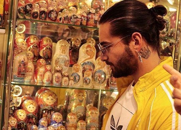 Maluma aprovechó para visitar varios lugares en Rusia pero se llevó un mal sabor de boca al ser víctima de la delincuencia. (Foto Prensa Libre: Maluma/Instagram)