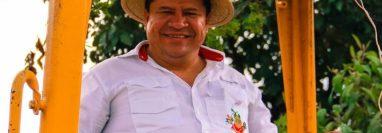 Ángel Amado Pérez Xitumul, alcalde de Rabinal, Baja Verapaz, fue ultimado este miércoles. (Foto Prensa Libre: Facebook)