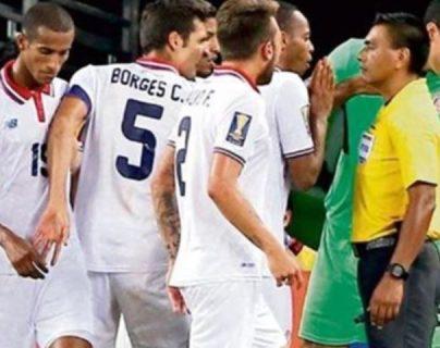 El árbitro guatemalteco Wálter López es uno de los más experimentados en la Concacaf. (Foto Prensa Libre: Hemeroteca PL)