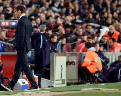 Julen Lopetegui se va del Real Madrid después de una muy mal inicio de temporada. (Foto Prensa Libre: AFP)