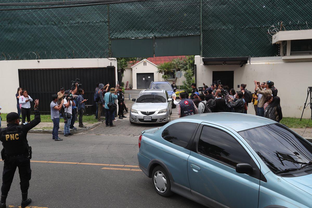 Sede de la Comisión Internacional contra la Impunidad en Guatemala. (Foto Prensa Libre: HemerotecaPL)