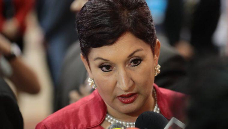 La exfiscal general reconoció interés de participar en política. (Foto Prensa Libre: Hemeroteca PL)