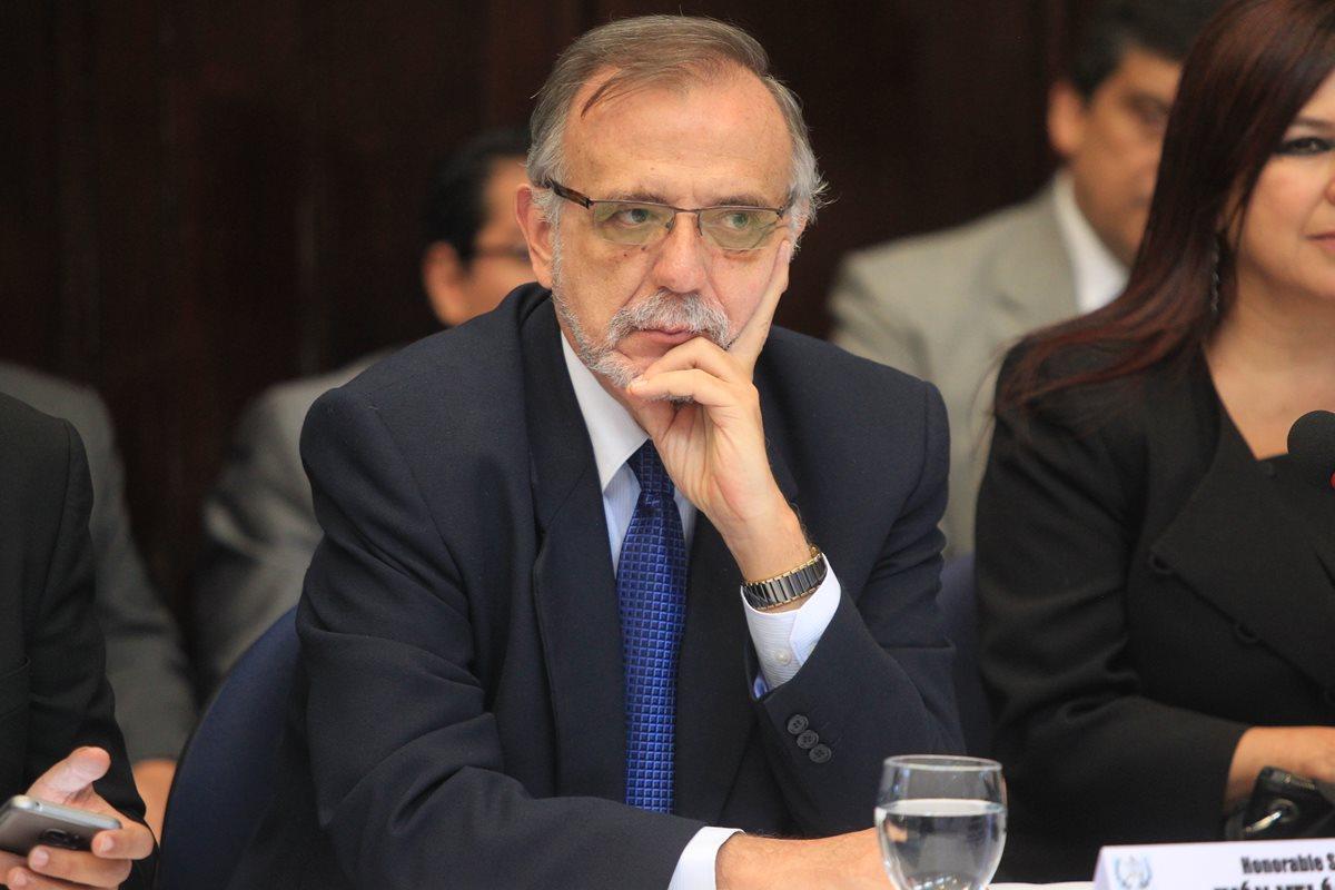 Abren querella contra jefe de Cicig Iván Velásquez