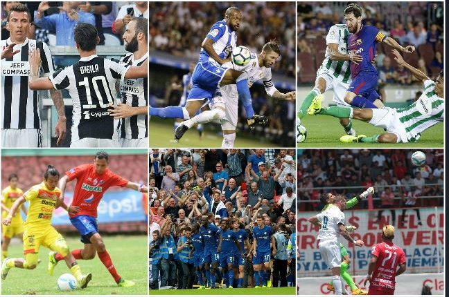 Los duelos más intensos para este fin de semana. (Foto Prensa Libre)