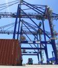 La Terminal de Contenedores Quetzal está lista para comenzar operaciones portuarias. Foto Prensa Libre: Hemeroteca PL)