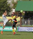 Comunicaciones perdió en el David Cordón Hichos 1-0. (Foto Prensa Libre: Hugo Oliva)