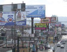Empieza la campaña política la cual estará al aíre por 90 días.  (Foto Prensa Libre: Hemeroteca PL)
