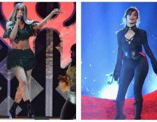 Las cantantes latinas Cardi B y Camila Cabello actuarán en la 61 edición de los Grammy, (Foto Prensa Libre: AFP)