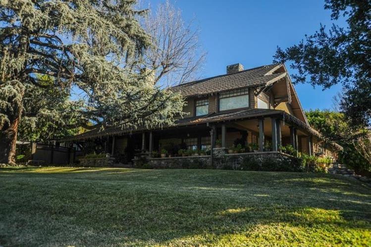 """La casa en la que se filmó la cinta """"Bird Box"""" se encuentra a unos 32 kilómetros de Los Ángeles. (Foto Prensa Libre: Splash News)"""