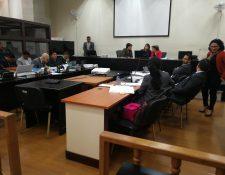 El Tribunal de Mayor Riesgo B rechazó la incorporación de nuevos hechos en el caso Génesis. (Foto Prensa Libre: Carlos Hernández)