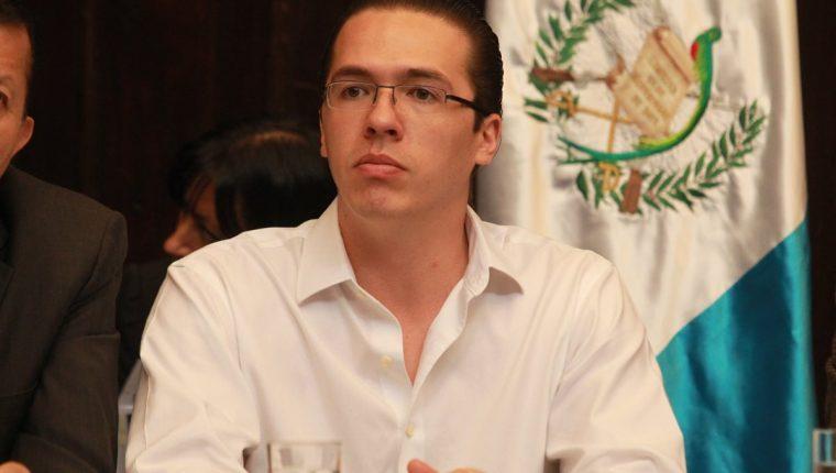 Felipe Alejos, primer vicepresidente del Congreso, tiene un antejuicio en proceso. (Foto Prensa Libre: Hemeroteca PL)