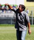 Fabricio Benítez logró un empate en el David Cordón Hichos con Cobán Imperial. (Foto Prensa Libre: Edwin Fajardo)