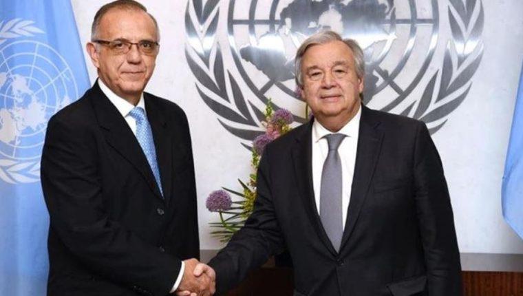 Iván Velásquez es confirmado por la ONU como jefe de la Cicig. (Foto Prensa Libre: Hemeroteca PL)