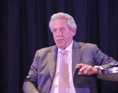 John C. Maxwell es escritor y conferencista internacional. (Foto Prensa Libre: Edna Rheiner)