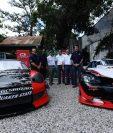 El Porsche GTS y el Corvette C6, son algunos de los autos que utilizarán en la categoría Modificada GT1. (Foto Prensa Libre: Francisco Sánchez.