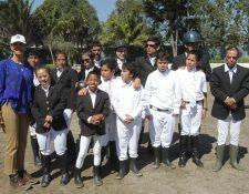 Los atletas están satisfechos por su desempeño en el primer día de acción. (Foto Prensa Libre: Norvin Mendoza)