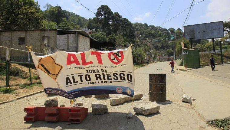 Los cambios a la ley podrían facultar al Estado para evacuar a las personas que están en zonas de riesgo. (Foto Prensa Libre: Hemeroteca PL)