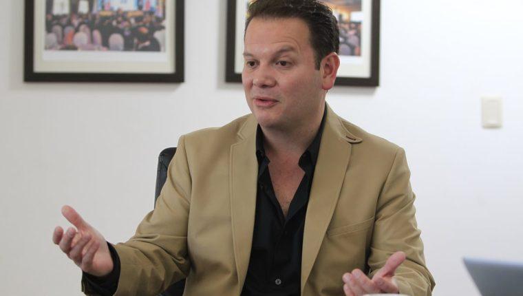 Manuel Espina es fundador de la organización Guatemala Próspera. (Foto HemerotecaPL)