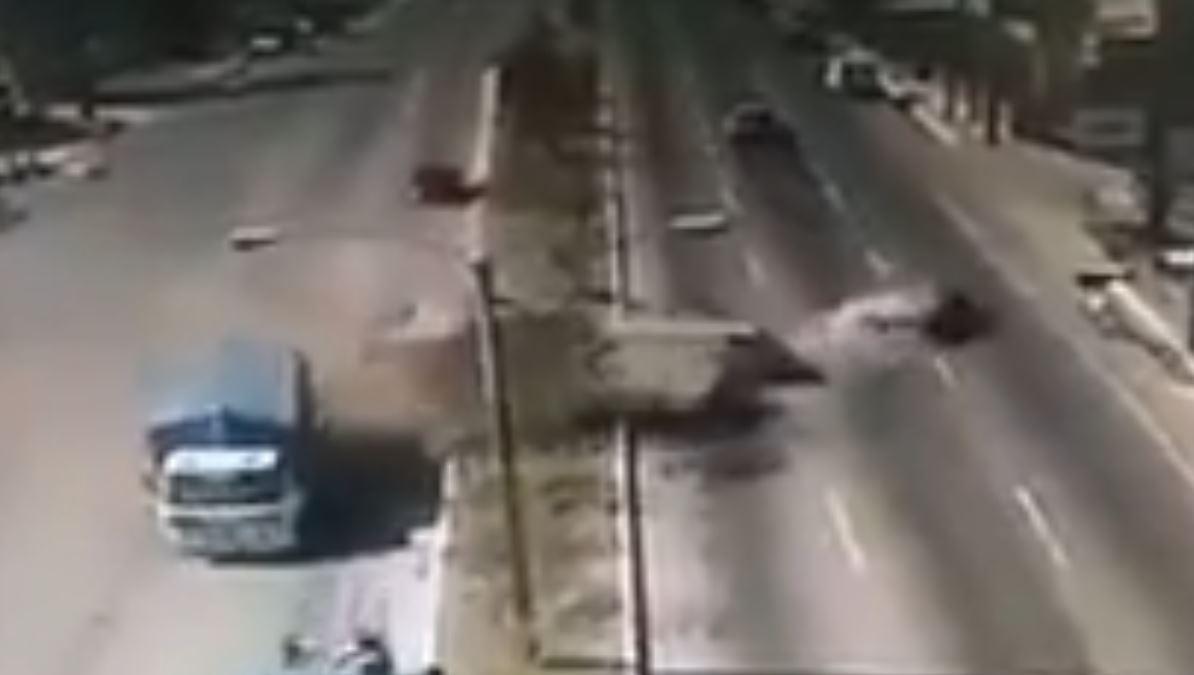 Accidente en San Cristóbal: Otro percance múltiple cerca del lugar de la tragedia