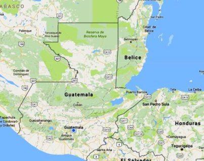 Congreso rechaza propuesta de incluir a Belice en el mapa de Guatemala