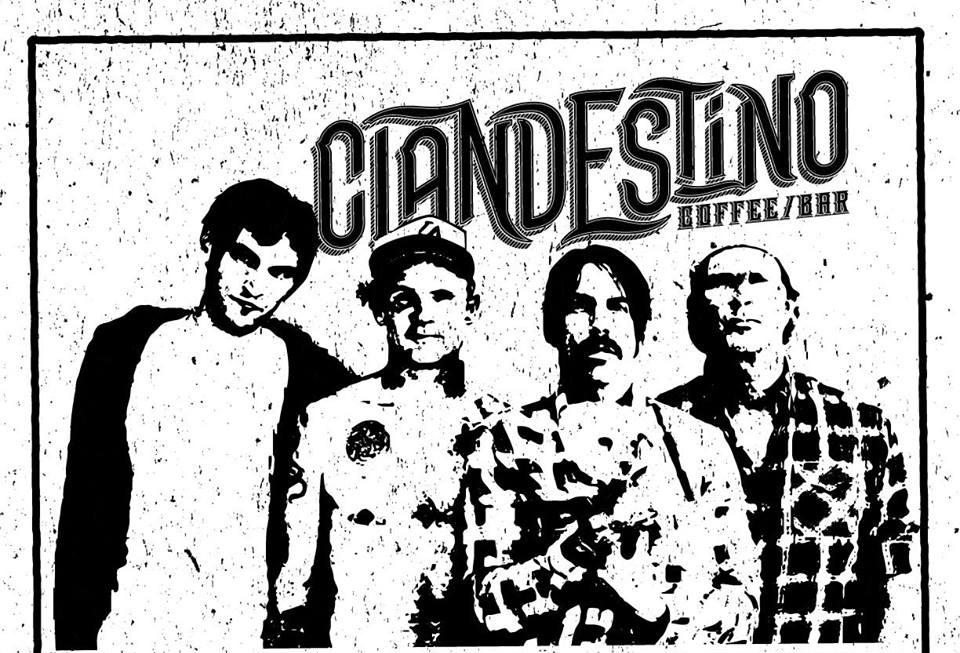 Aniversario de Bar Clandestino con la banda tributo the Hot Chiltepes