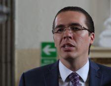 Felipe Alejos, primer vicepresidente de la Junta Directiva del Congreso, enfrenta un proceso de antejuicio a solicitud del MP y la Cicig. (Foto Prensa Libre: Hemeroteca PL)