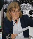 La alcaldesa de Antigua Guatemala, Susana Asencio, fue denunciada por la Contraloría General de Cuentas por un supuesto mal manejo de recursos. (Foto Prensa Libre: Julio Sicán)