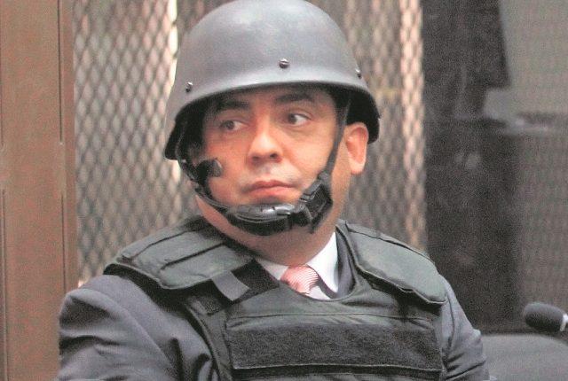 Juan Carlos Monzón Rojas durante una audiencia. (Foto Prensa Libre: Hemeroteca PL).