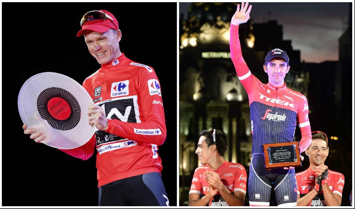 Chris Froome gana la Vuelta en la despedida de Alberto Contador