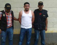 Byron Misael Sarceño Castillo es sindicado de falsedad material y abuso de autoridad, por caso de corrupción en Municipalidad de Las Cruces. (Foto Prensa Libre: Rigoberto Escobar)