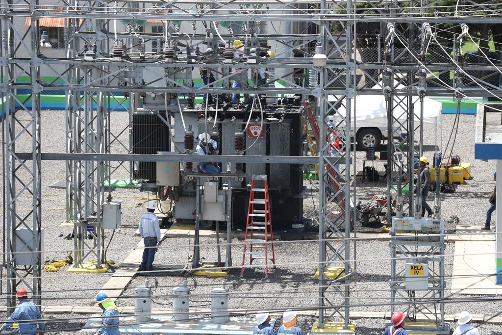 Las exportaciones de energía eléctrica registraron un crecimiento del 36% y sumaron US$81 millones a julio último, según las cifras de comercio exterior. (Foto Prensa Libre: Hemeroteca)