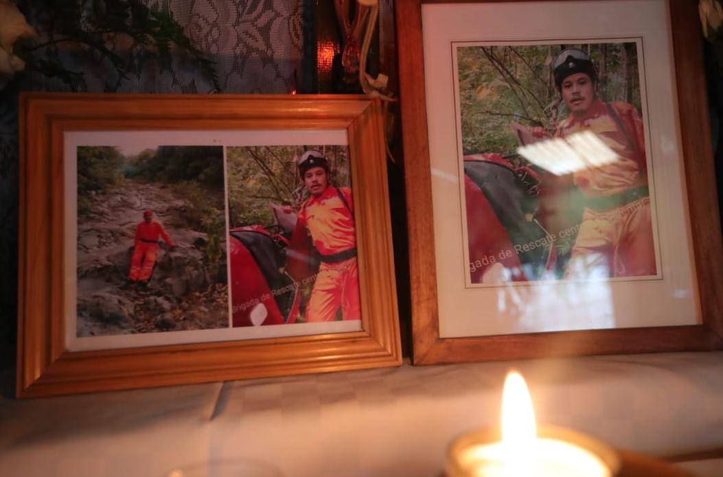 José Antonio Castillo es uno de los bomberos desaparecidos en el lugar de la tragedia por el Volcán de Fuego. (Foto Prensa Libre: Estuardo Paredes)