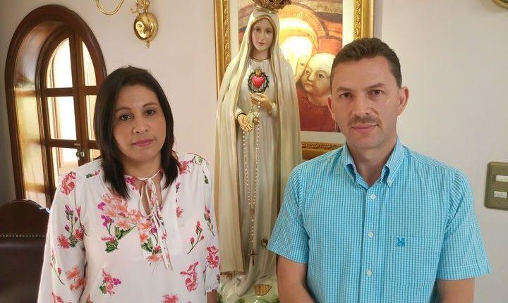 El accidente que Scarlet Calderón y Noé García tuvieron los unió más como esposos y familia. (Foto Prensa Libre: José Luis Escobar).