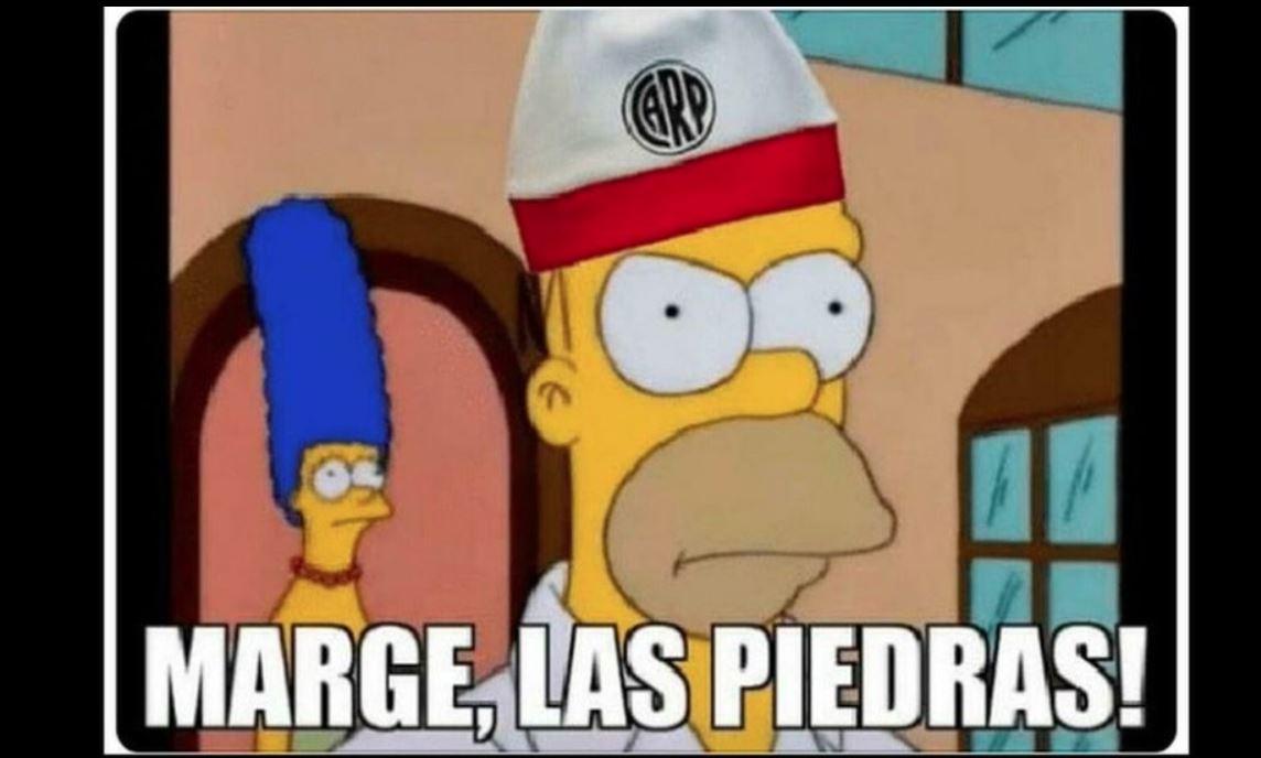 Las redes sociales se llenaron de memes de River Plate. (Foto Prensa Libre: Twitter)