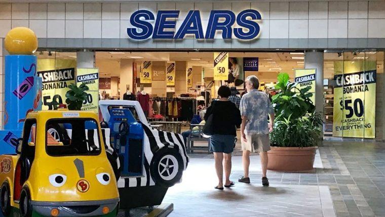 Sears proyectaba buenas ventas navideñas, pero según la propia compañía no están yendo tan bien como esperaba. (Foto Prensa Libre: USA Today Network)