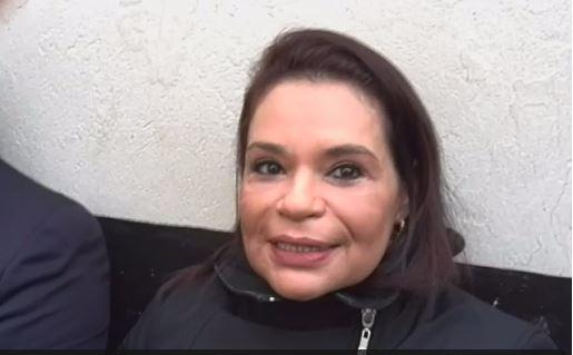 Roxana Baldetti vuelve a sonreír
