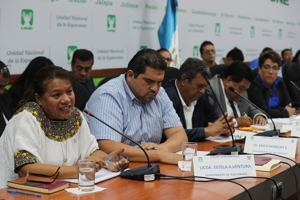 Gobernadores culpan a alcaldes y Finanzas por baja ejecución de Codedes