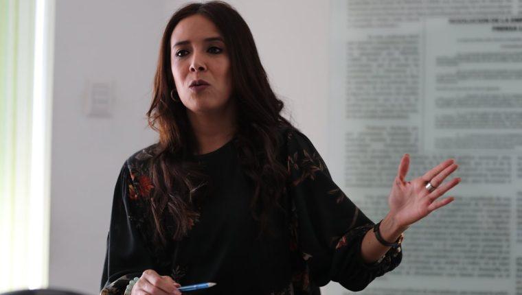 Ana Chan, presidenta de Camex instó a los empresarios guatemaltecos en conocer las oportunidades de negocios que hay con México sobre todo en el sector de alimentos frescos y procesados. (Foto Prensa Libre: Érick Ávila)