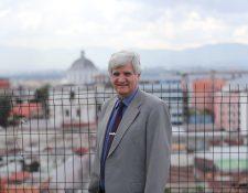 Juan Carlos Villagrán, científico e investigador guatemalteco. (Foto Prensa Libre: Érick Ávila)