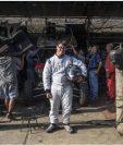 Lucas Barrón se siente feliz de poder participar en el Rally Dakar 2019. (Foto Prensa Libre: AFP)