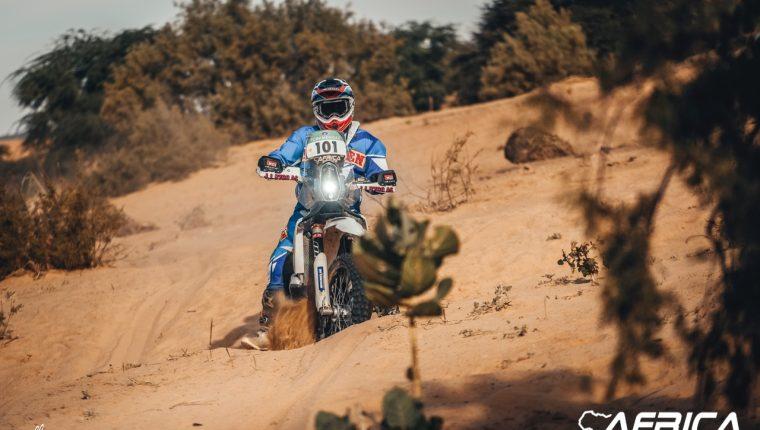Francisco Arredondo ha mostrado un buen nivel en el Rally de África. (Foto Prensa Libre: Pagina del Rally)